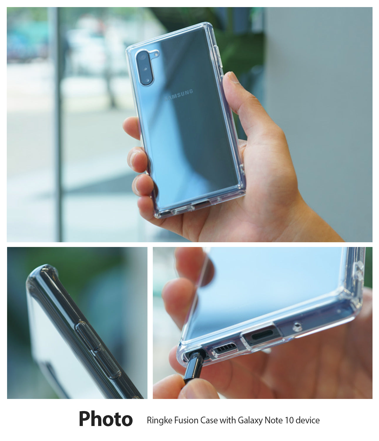ringke fusion case for galaxy note 10