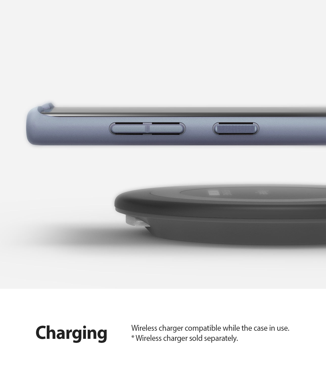 wireless charge and powershare compatible without removing the case