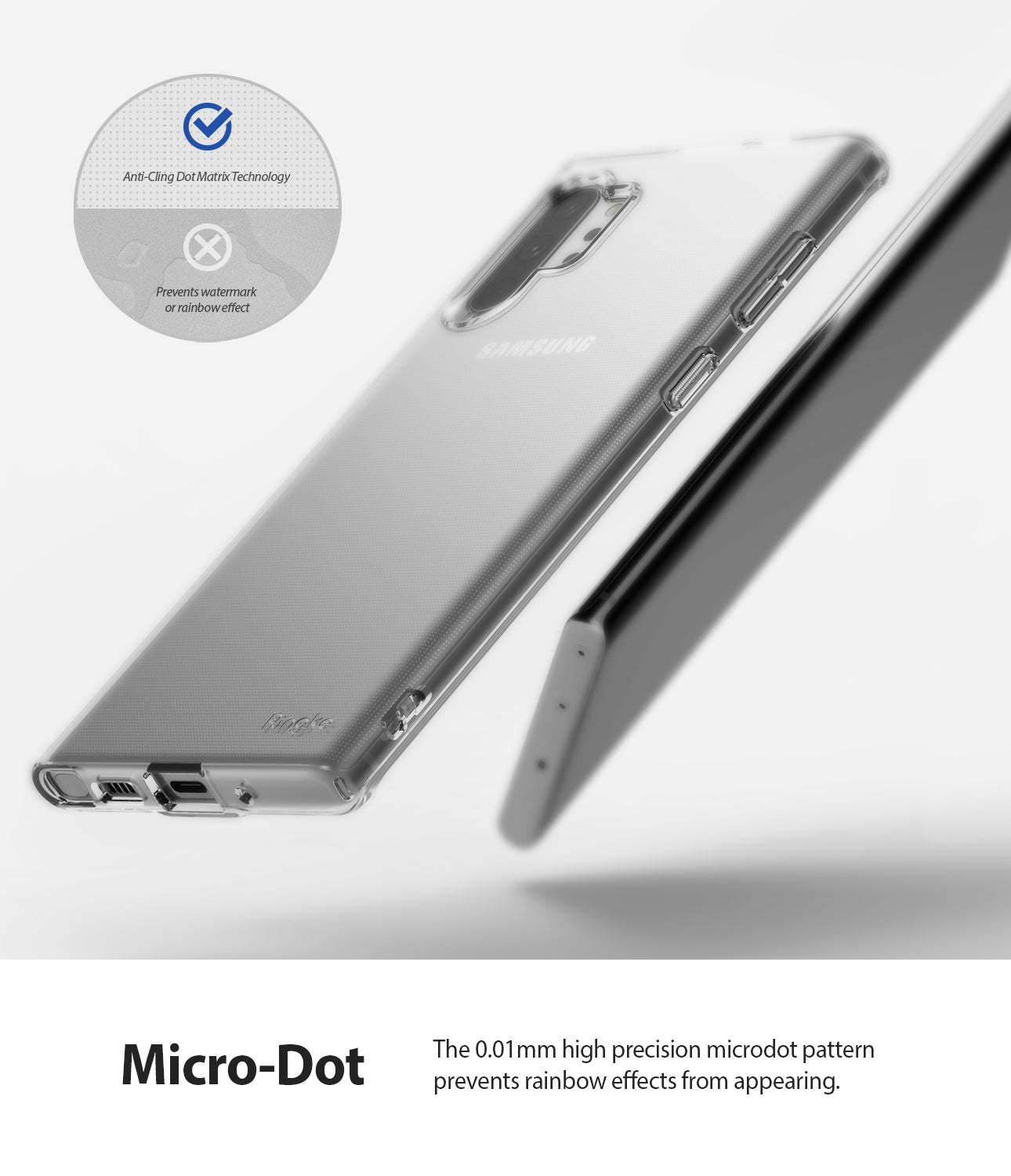 anti cling micro dot