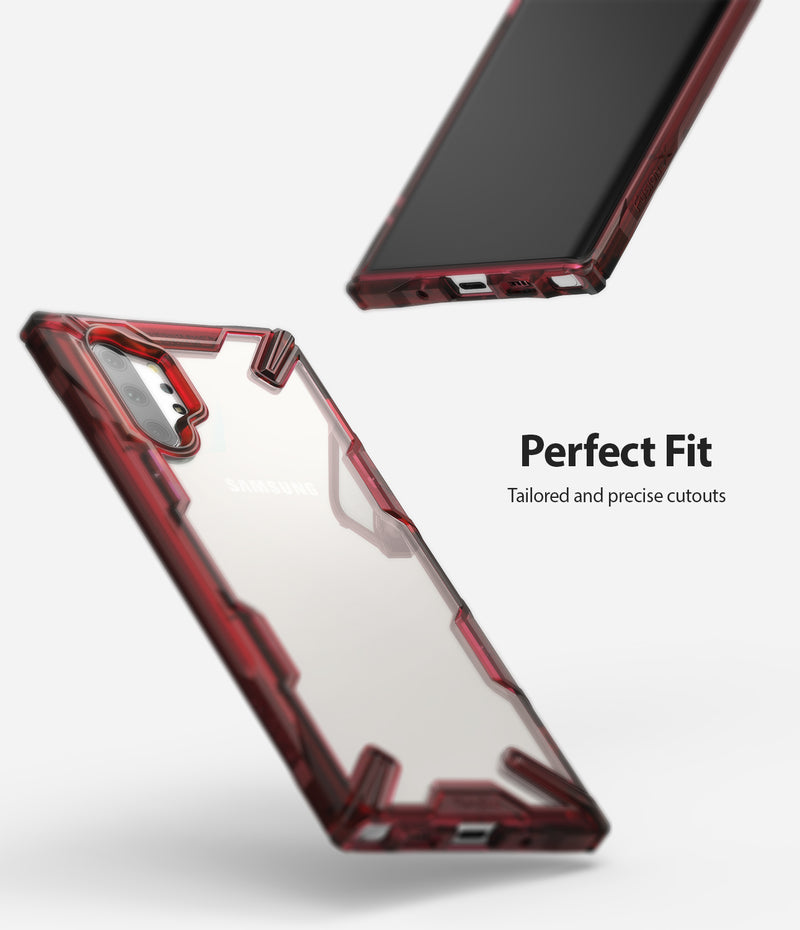 Ringke Fusion-X for Galaxy Note 10 Plus 5G (2019) Ruby Red