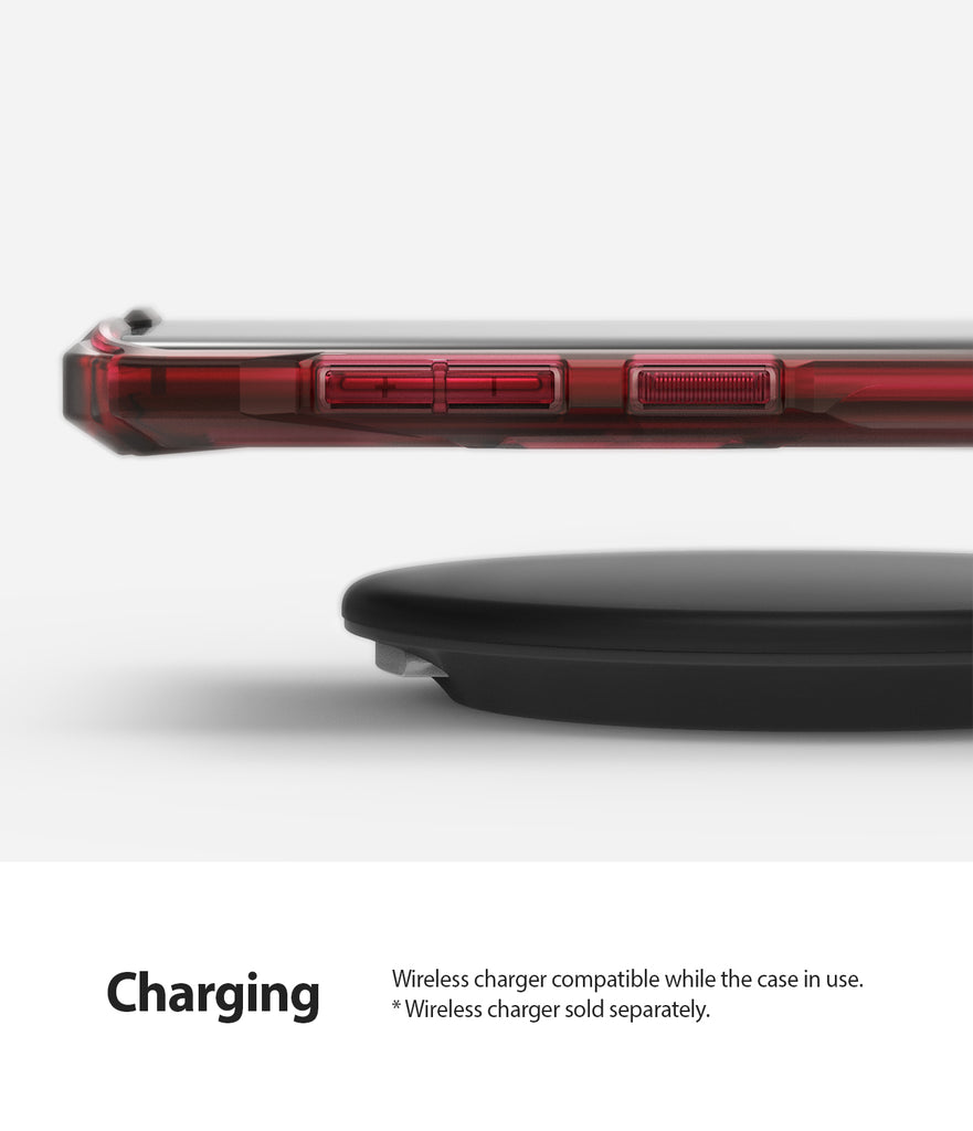 wireless charging / powershare compatible without removing the case