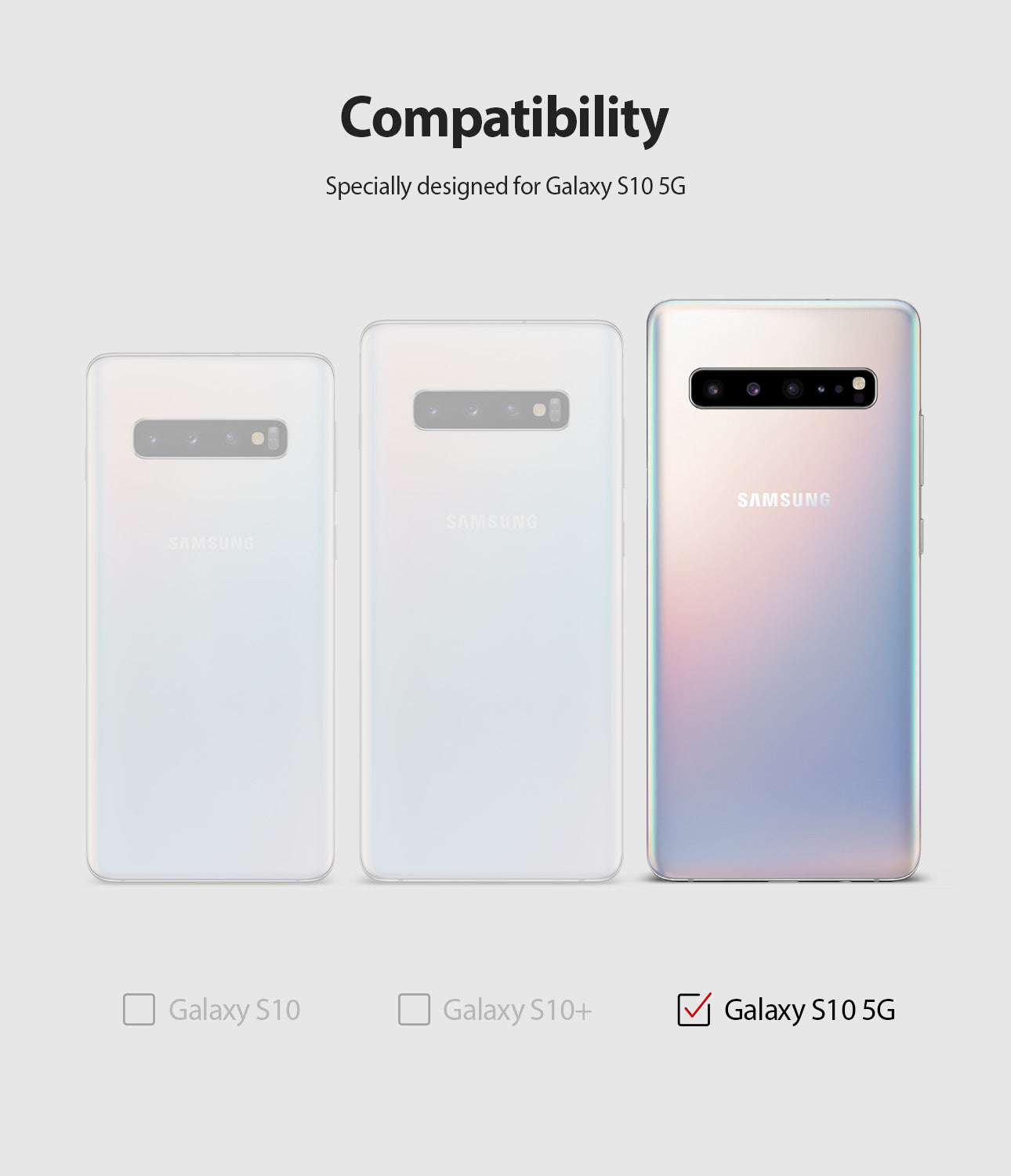 only compatible with galaxy s10 5G
