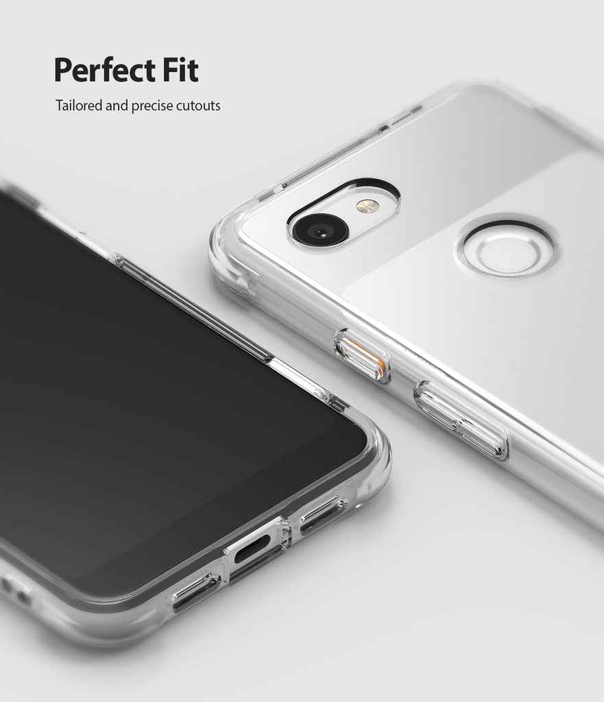 ringke fusion clear transparent protective back case cover for google pixel 3a xl main camo black