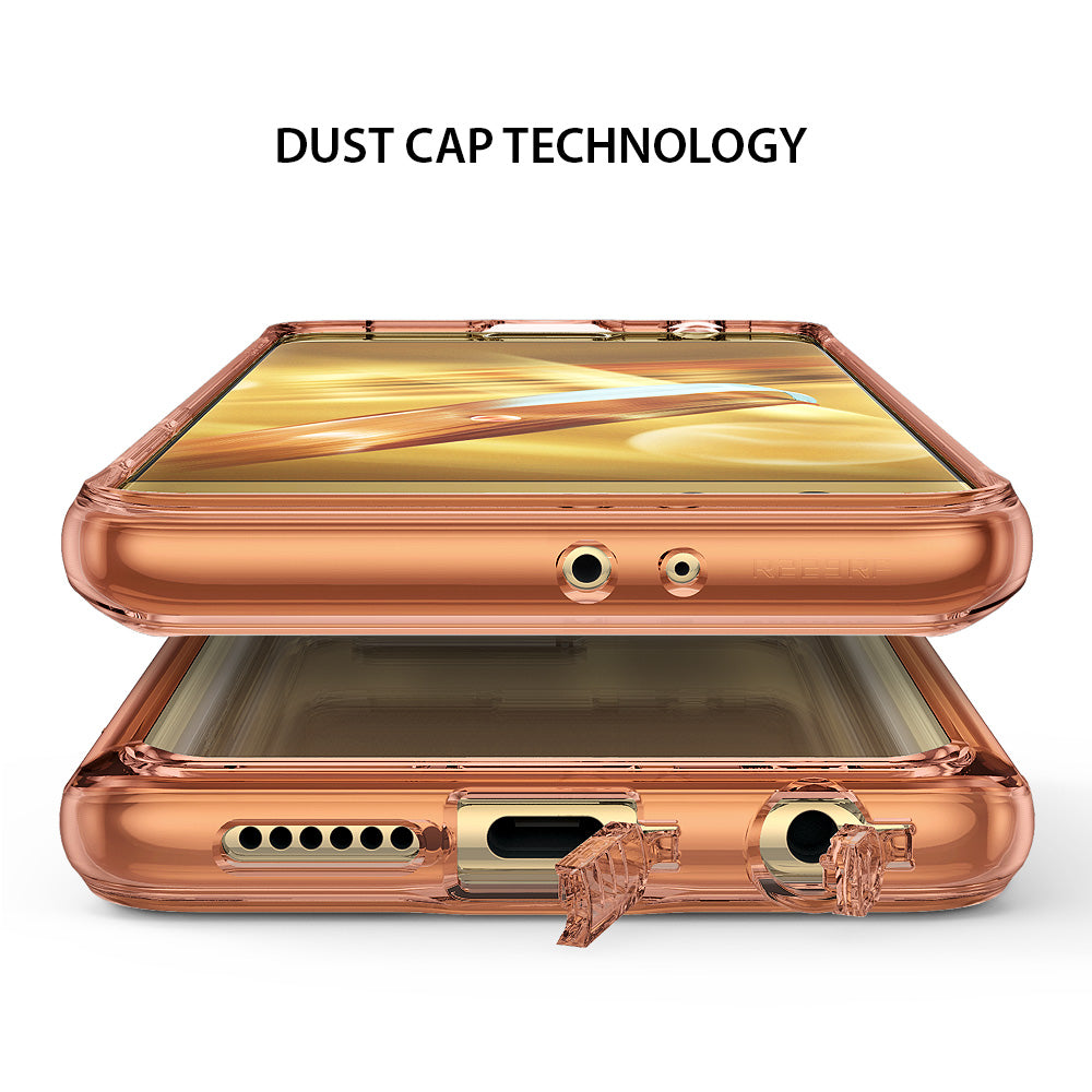 attached dust cap