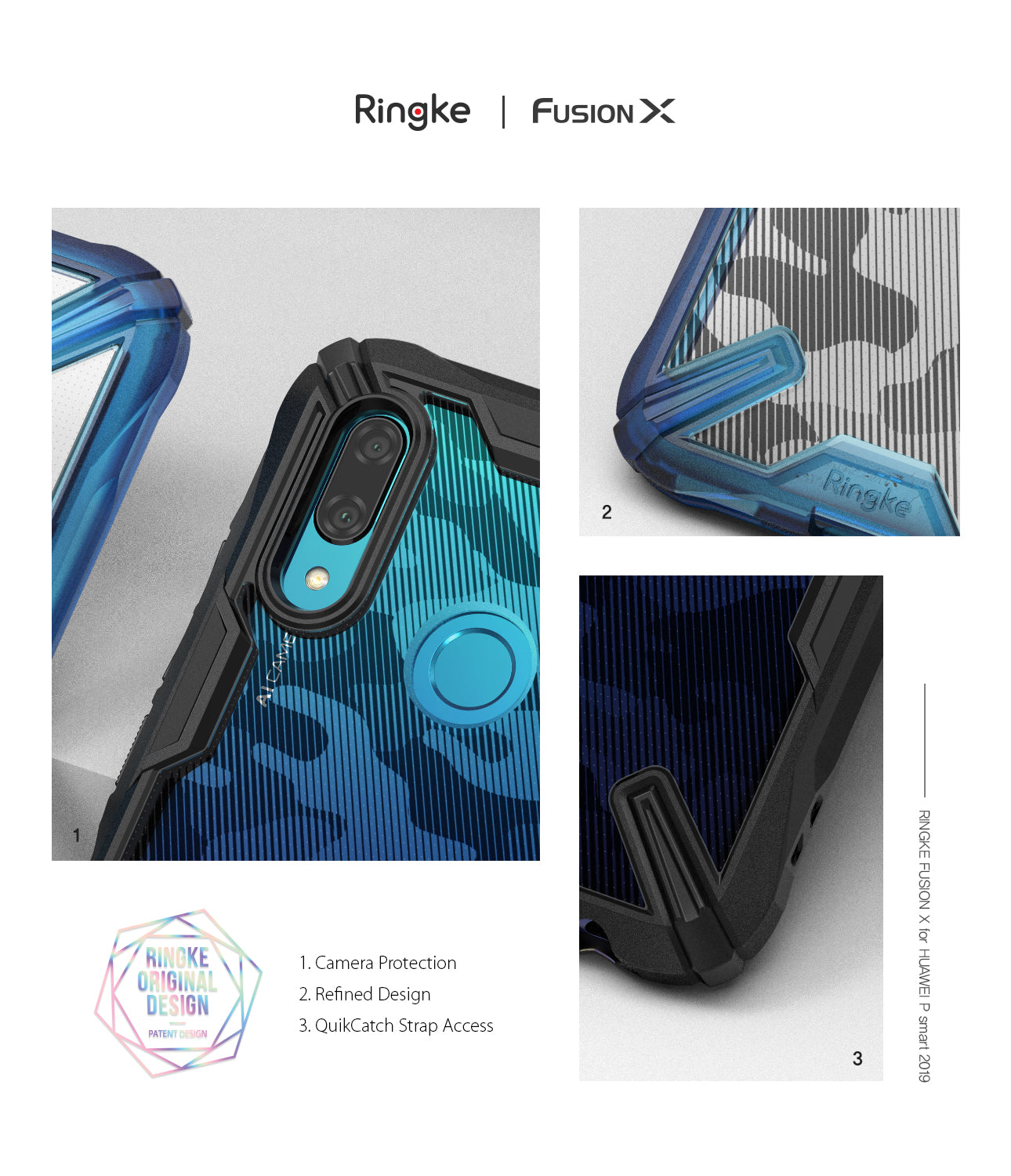 Huawei P Smart 2019 Case | Fusion-X