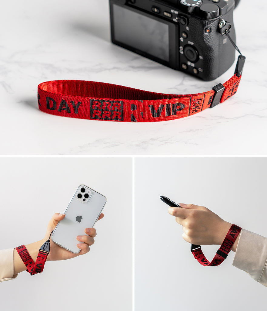 Hand Strap Lettering | Ticket Band 2 Red