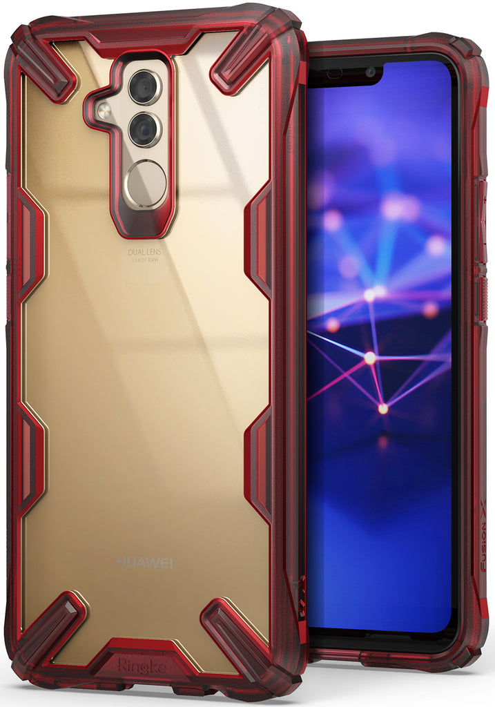 huawei mate 20 lite fusion-x case Ruby Red