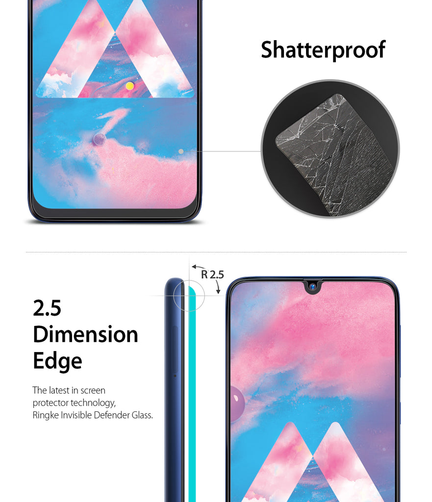 shatterproof, 2.5 dimension edge