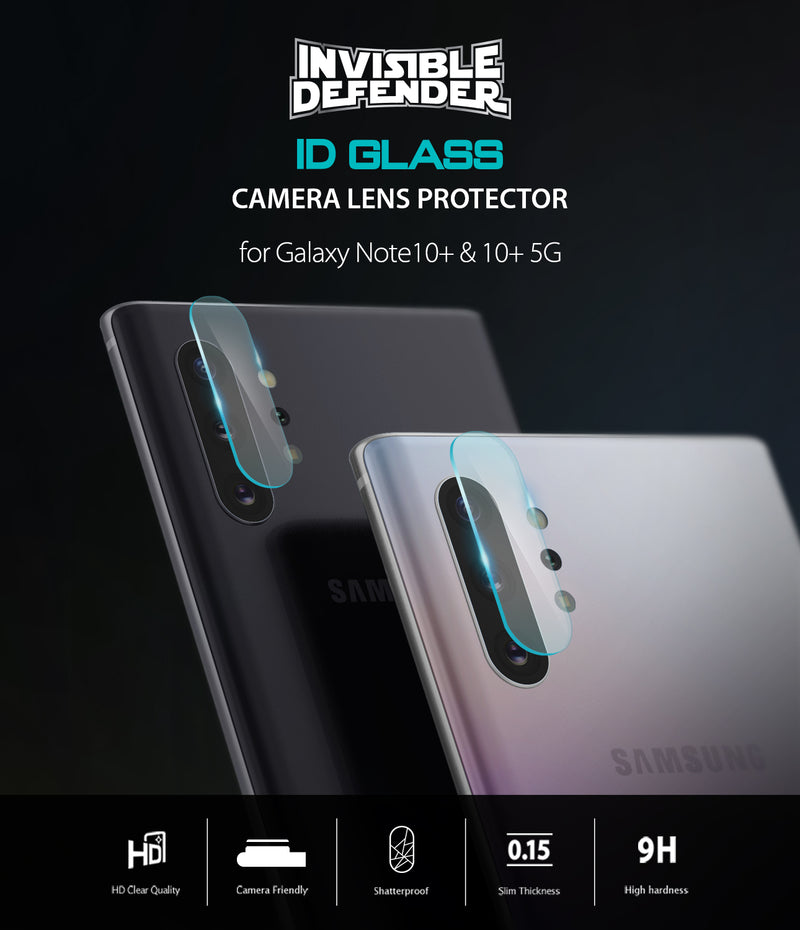 Galaxy Note 10/10 Plus Camera Glass [3 Pack]
