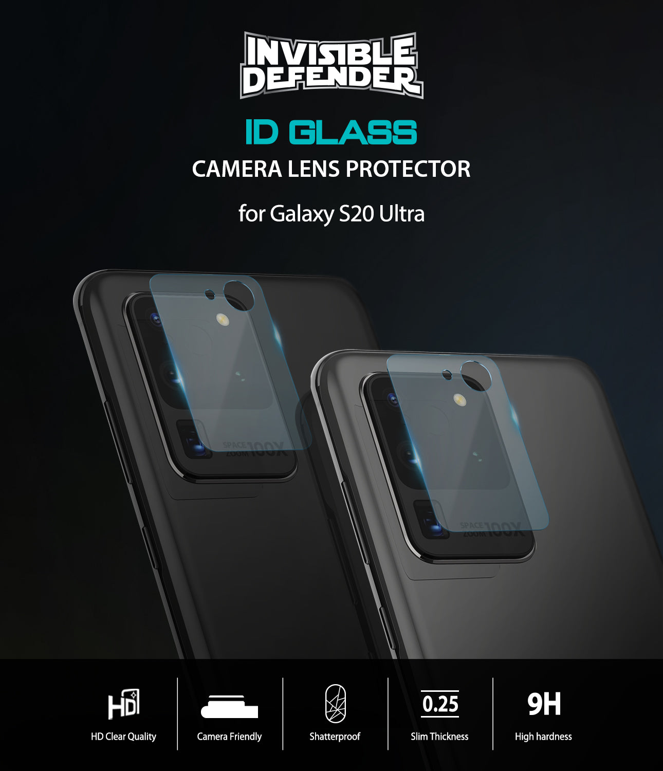 samsung galaxy s20 ultra camera lens protector ringke invisible defender tempered glass