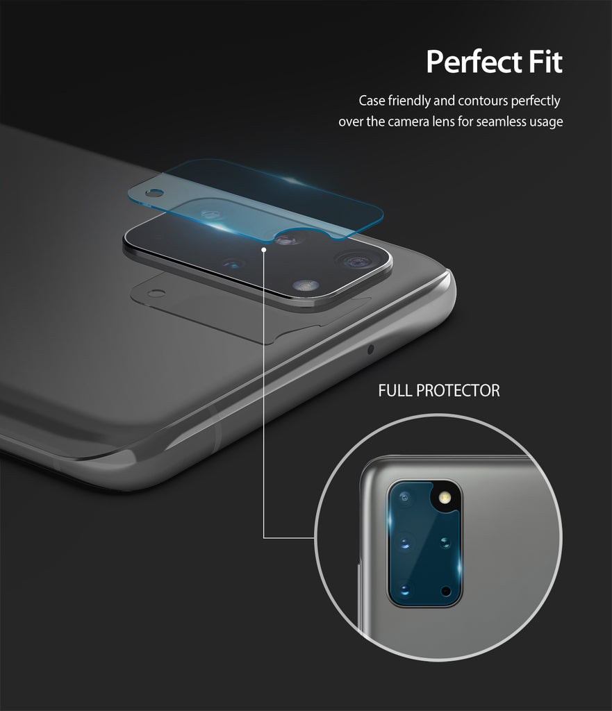 case friendly and contours perfectly over the camera lens for seamless usage