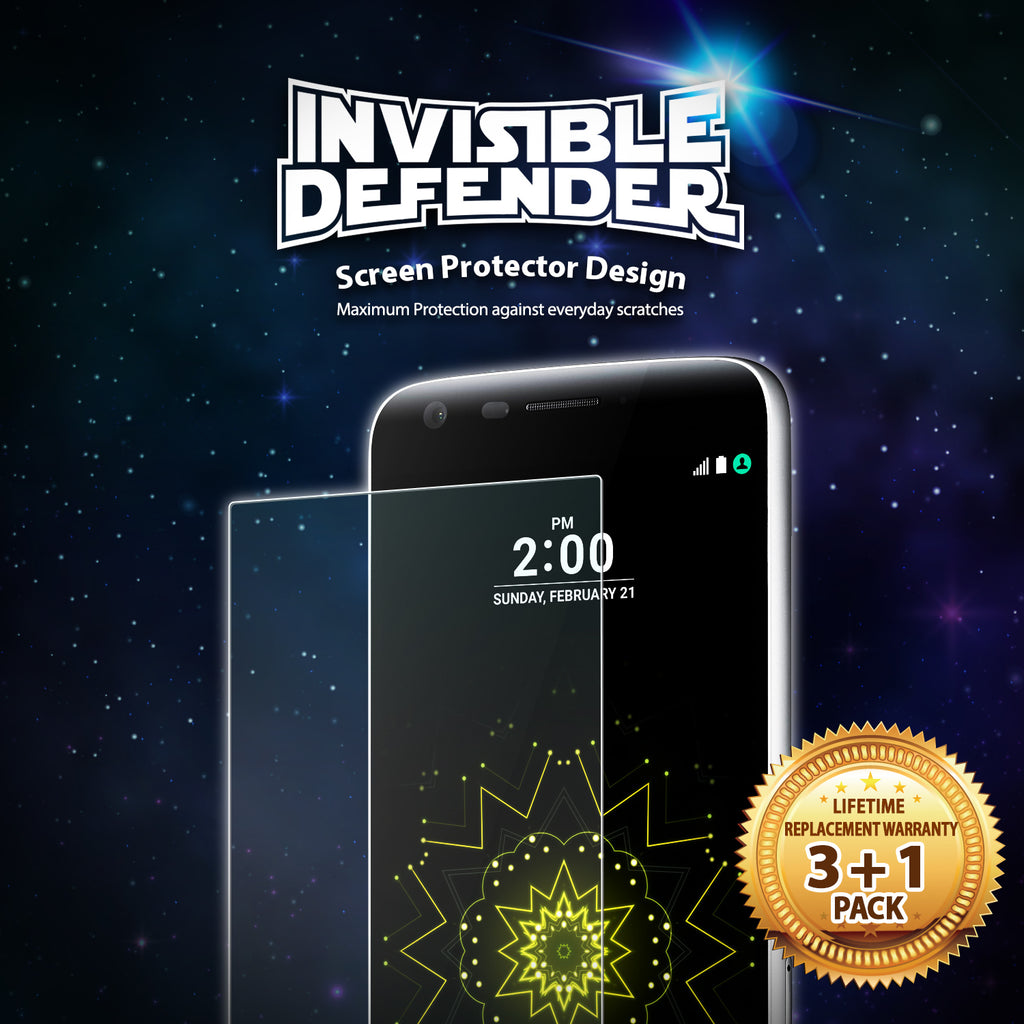 ringke invisible defender screen protector for lg k7 / tribute 5