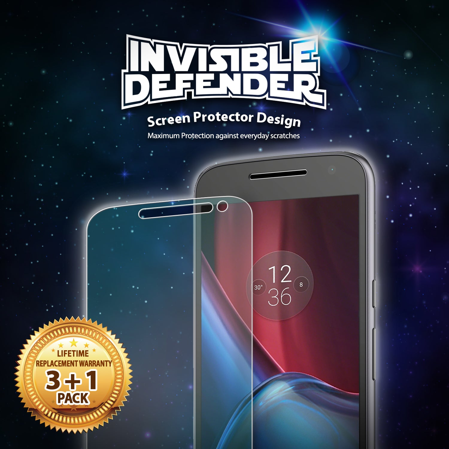 ringke invisible defender film screen protector for moto g4 plus