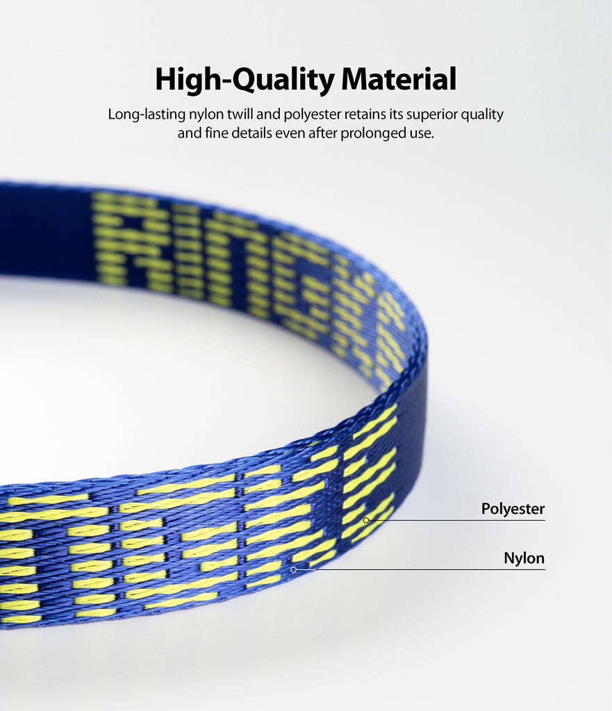 long-lasting nylon twill and polyestser retains its superior quality and fine details even after prolonged use
