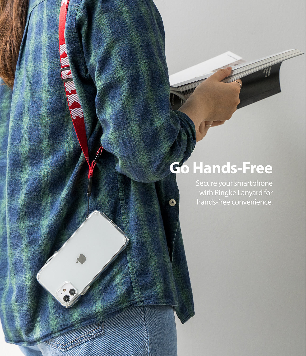 secure your smart devices with ringke lanyard for hands-free convenience