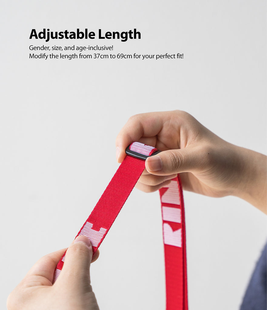 gender, size, and age inclusive! Modify the length from 37cm to 69cm for your perfect fit