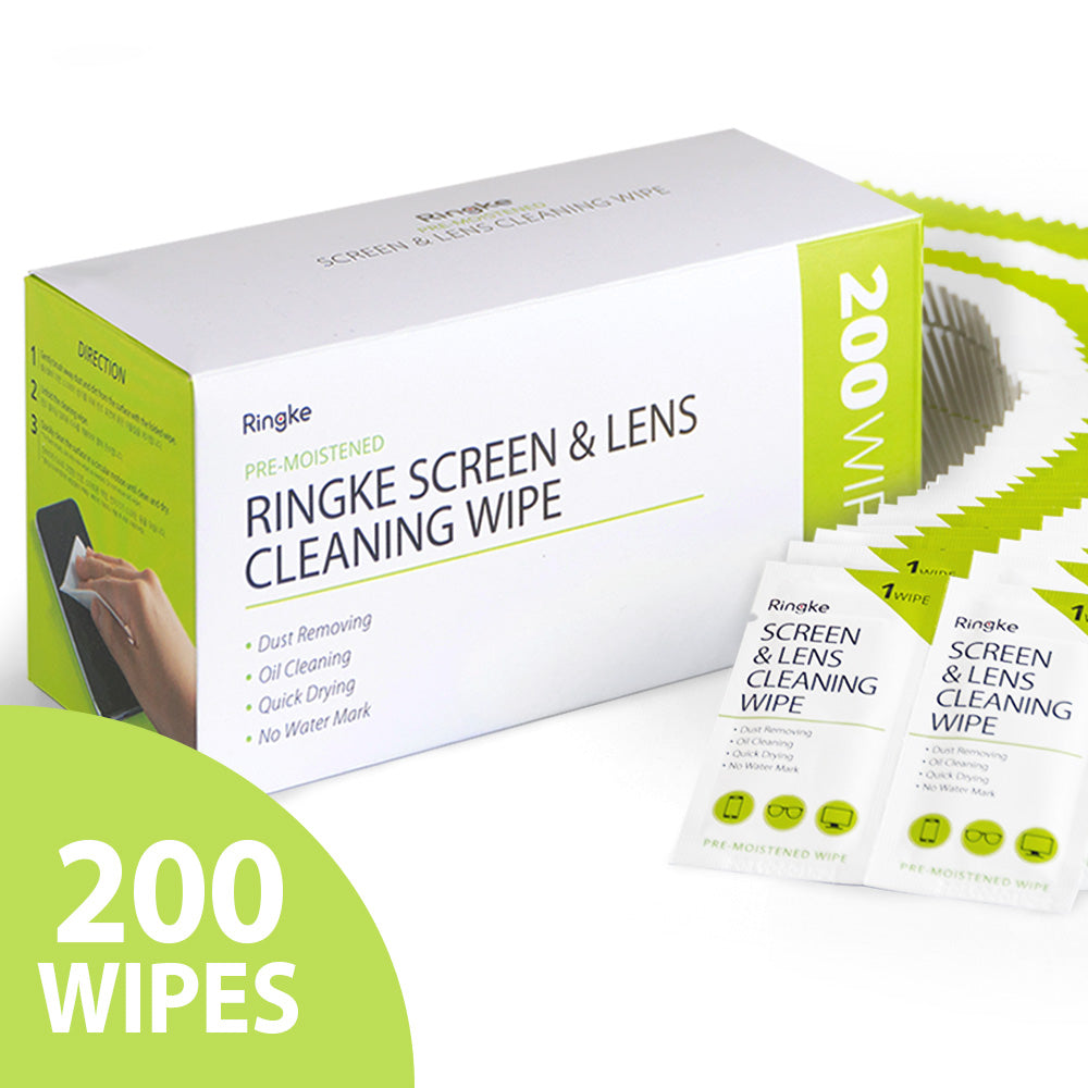 Screen and Lens Cleaning Wipes