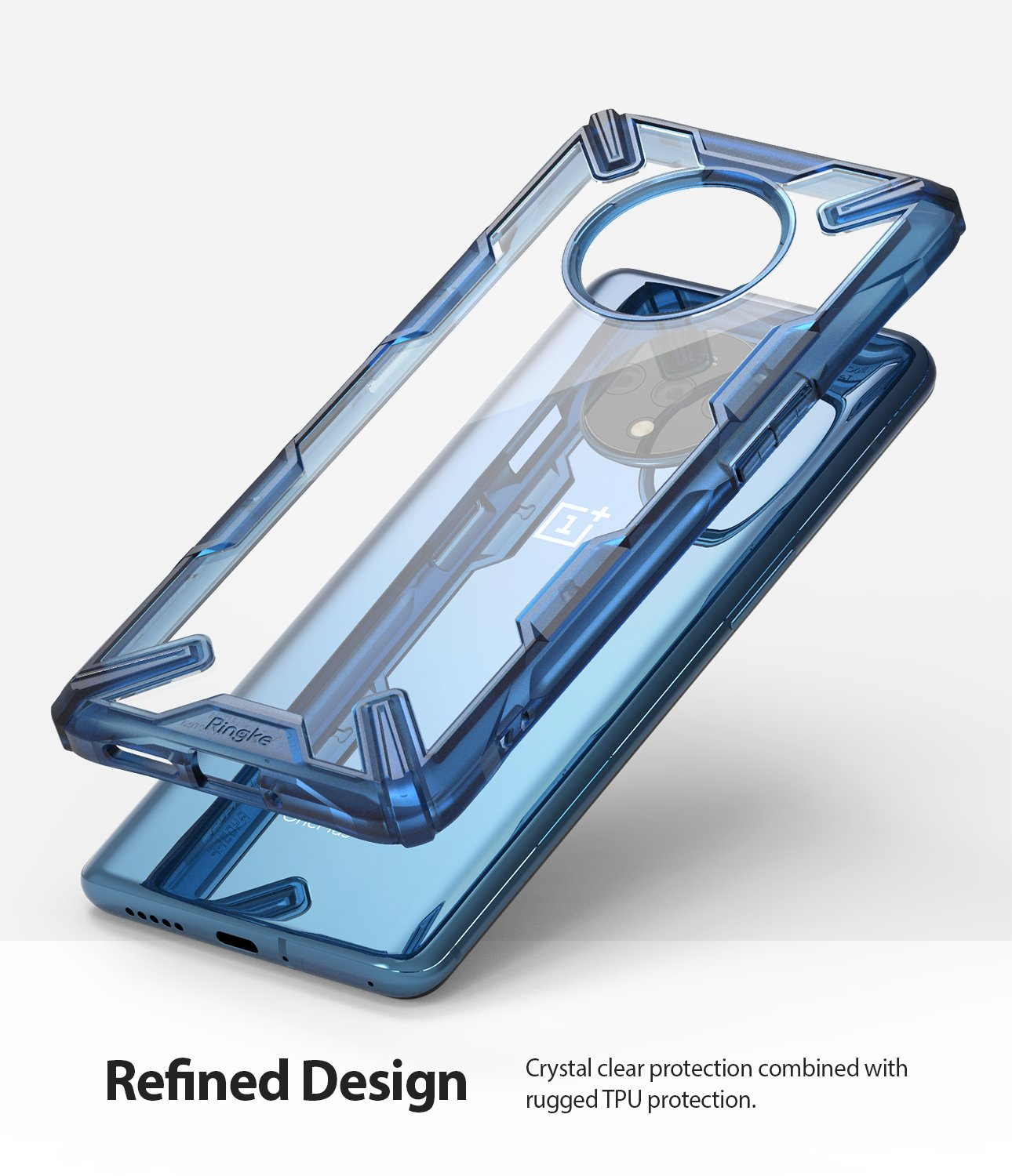 crystal clear protection combined with rugged tpu protection