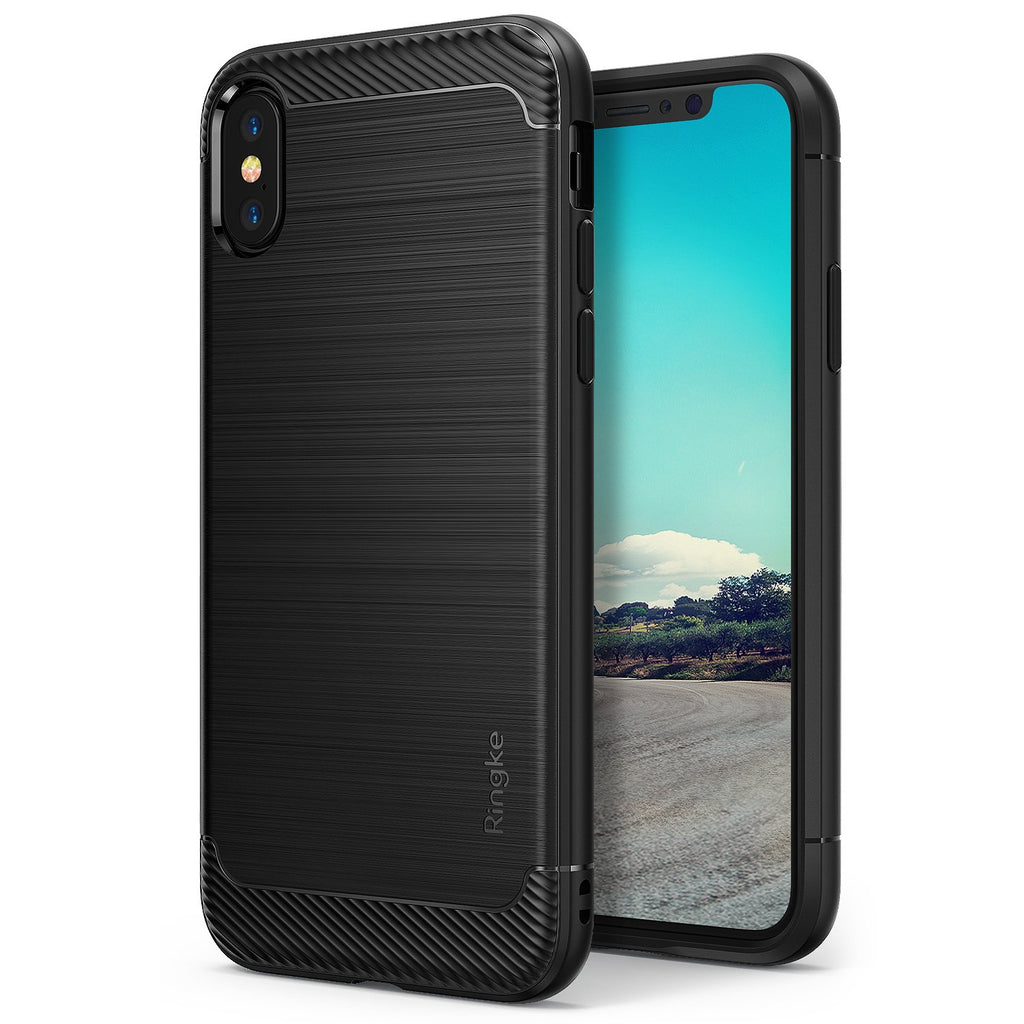 ringke onyx for iphone x case cover main black