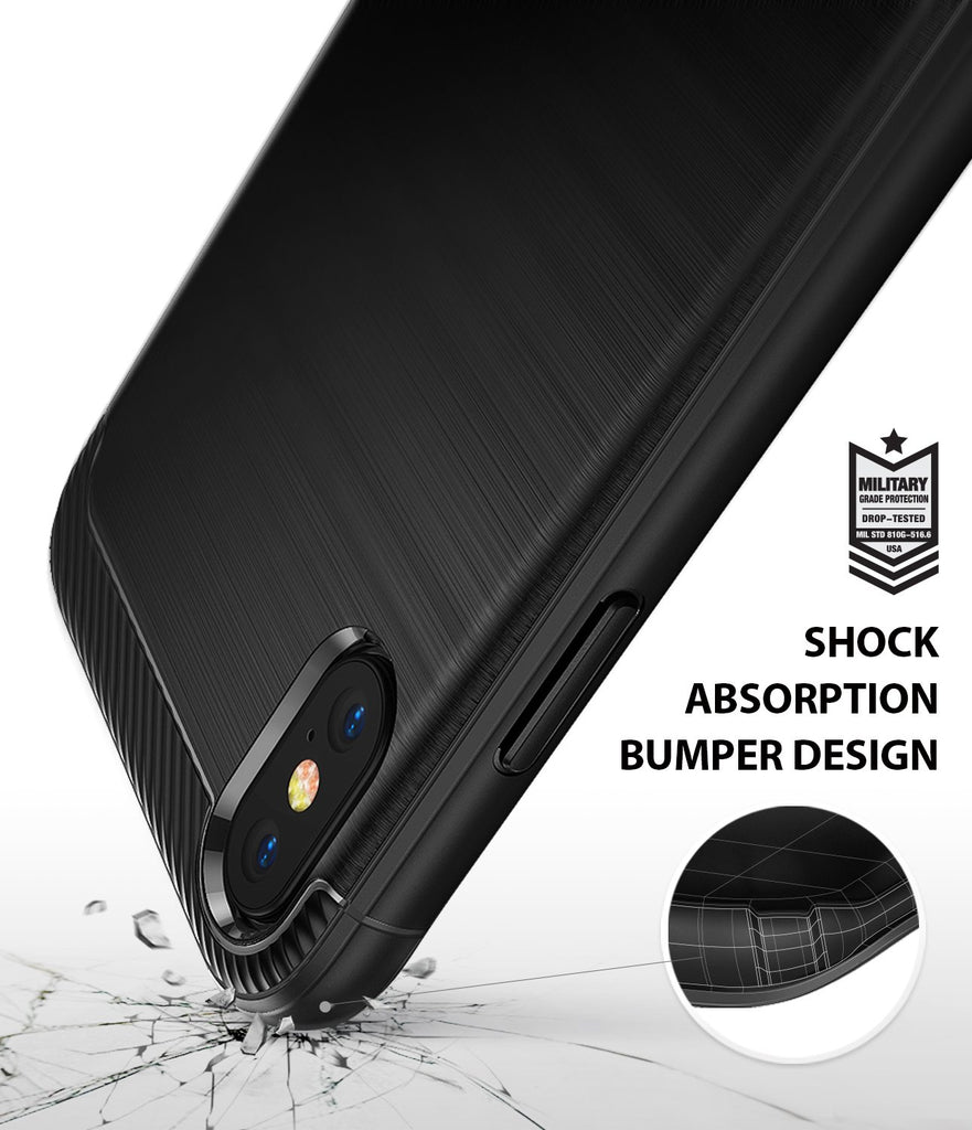 ringke onyx for iphone xs case cover shockproof