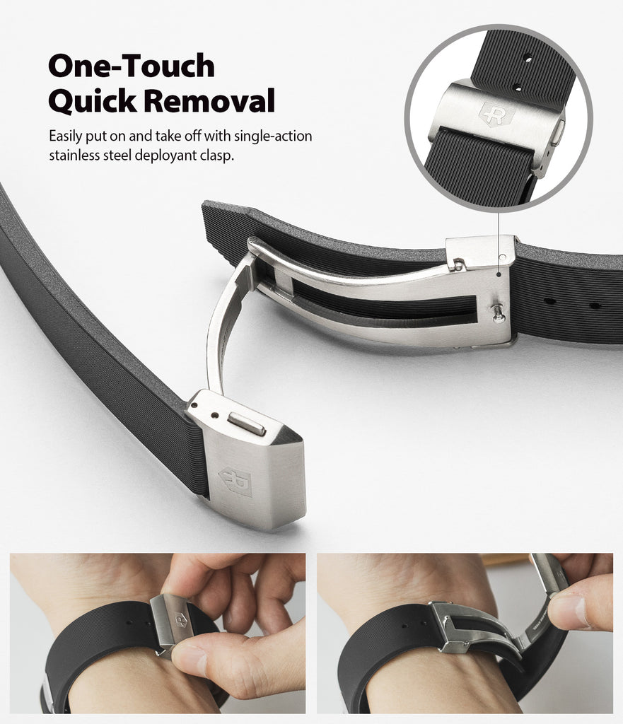 one-touch quick removal