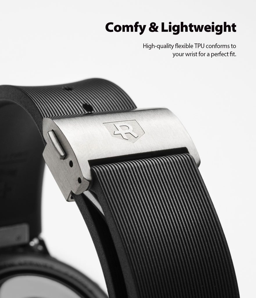 comfy & lightweight - high quality flexible tpu conforms to your wrirst for a perfect fit