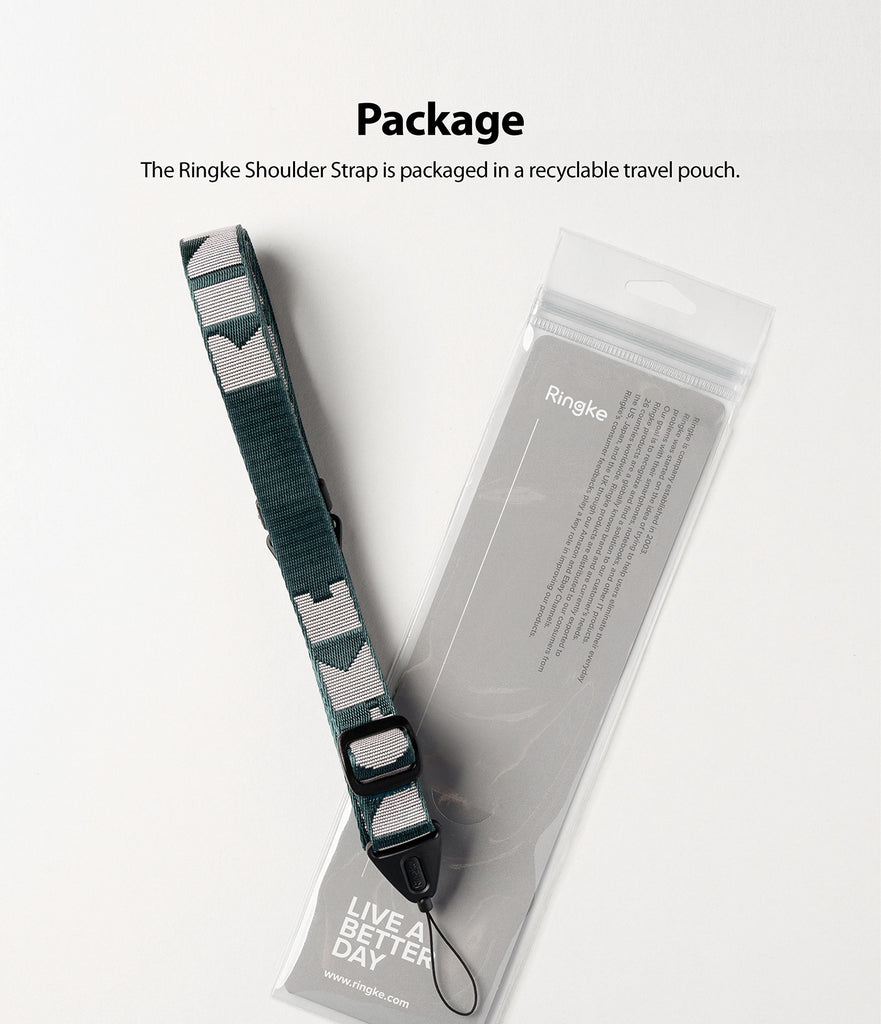 packaged in a recyclable travel pouch
