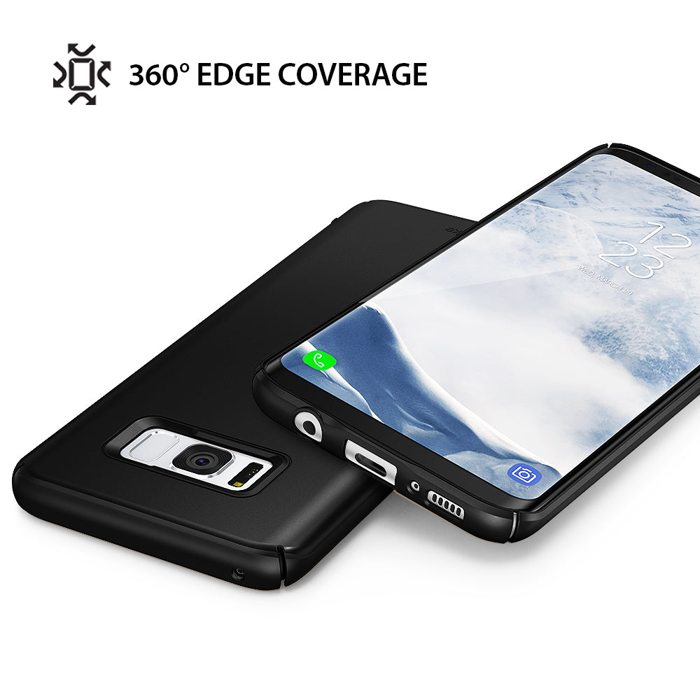 ringke slim premium hard pc protective back cover case for galaxy s8 plus