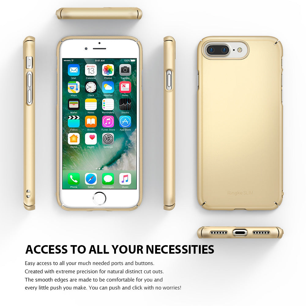 ringke slim hard pc thin case cover for iphone 7 plus 8 plus main ultimate thin
