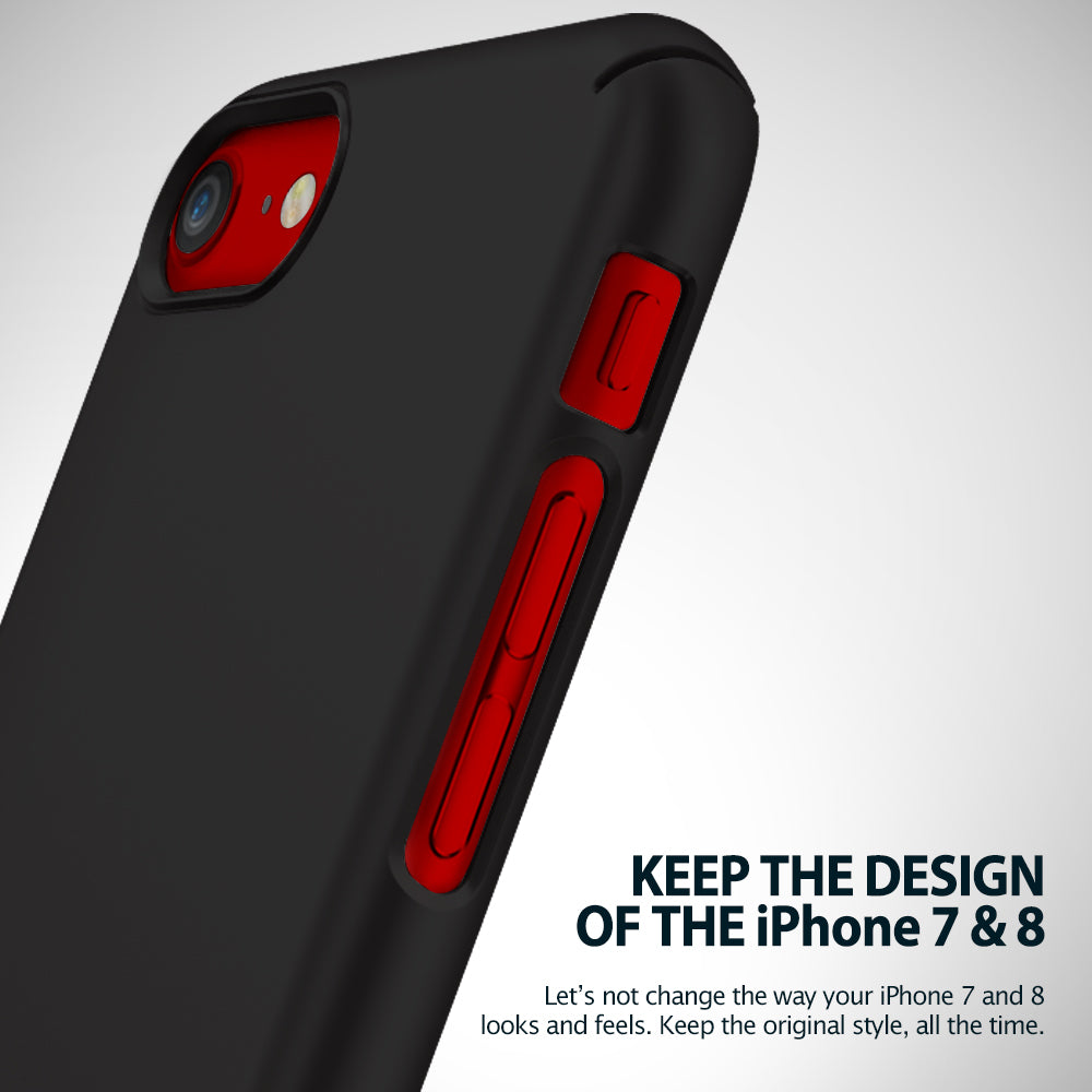ringke slim hard pc thin protective case cover for iphone 7 8 main access to all buttons