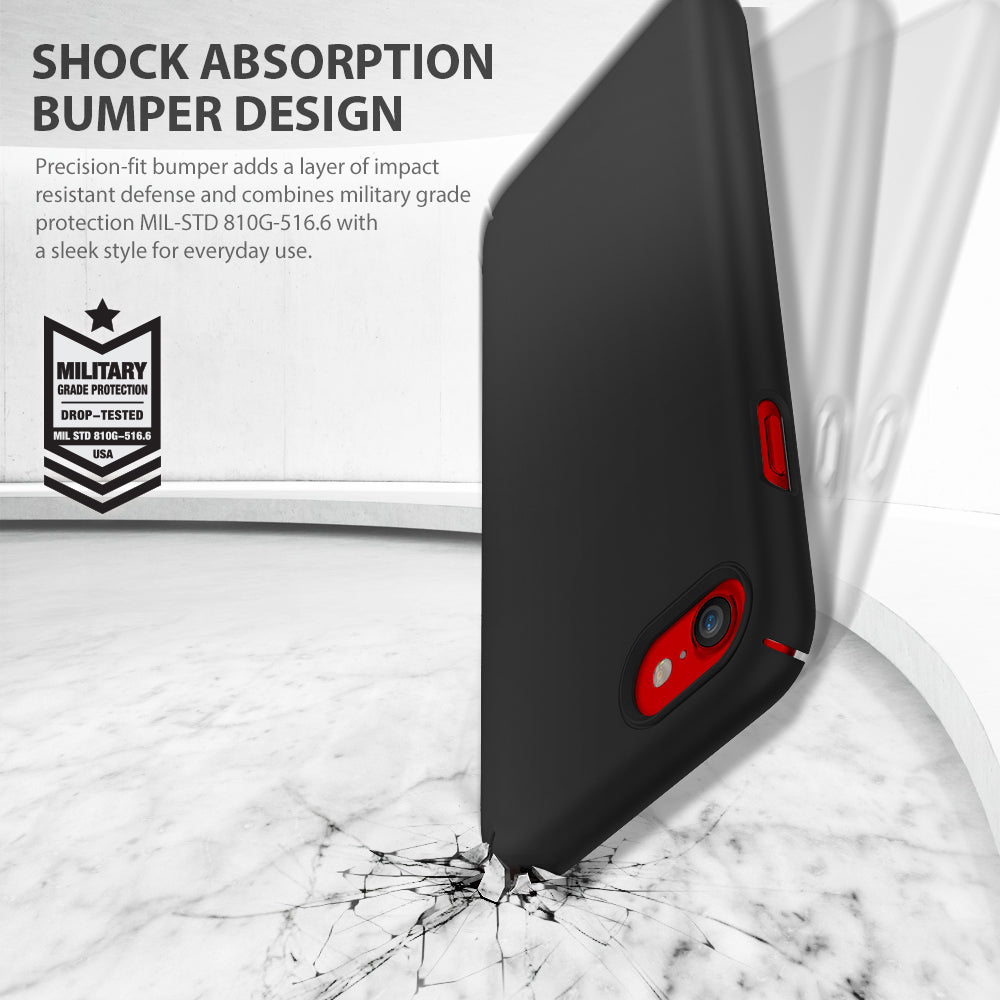 ringke slim hard pc thin protective case cover for iphone 7 8 main shockproof protection
