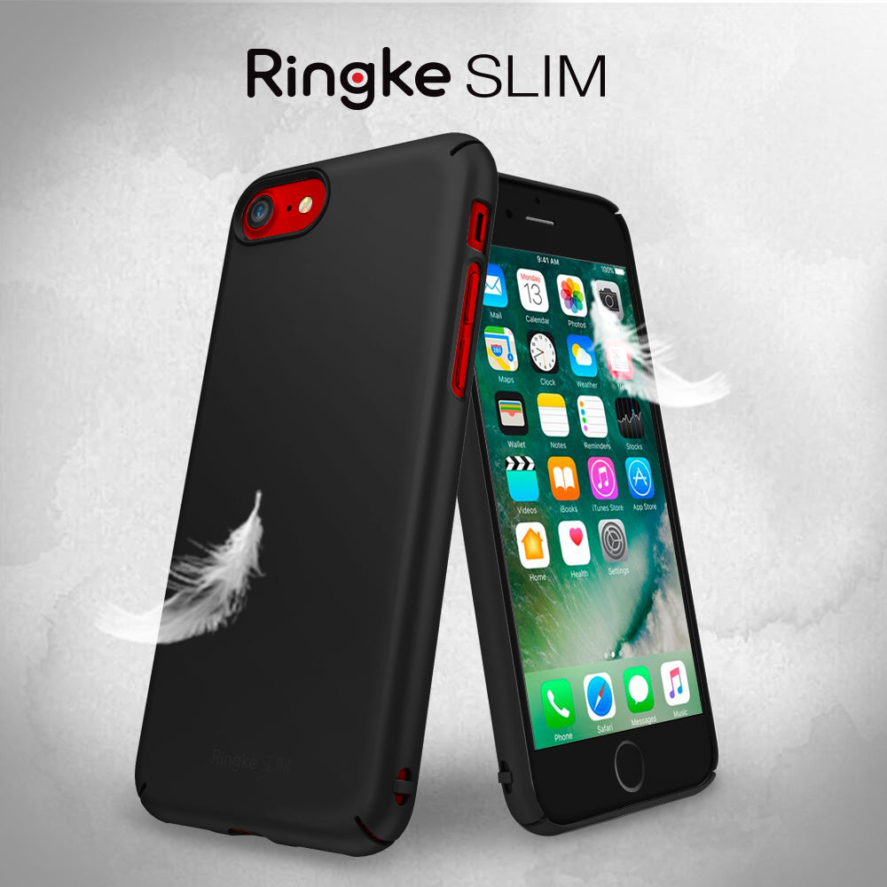 ringke slim hard pc thin protective case cover for iphone 7 8 main