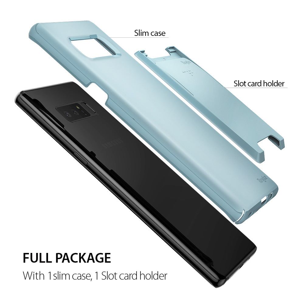 1 slim case with 1 slot card holder