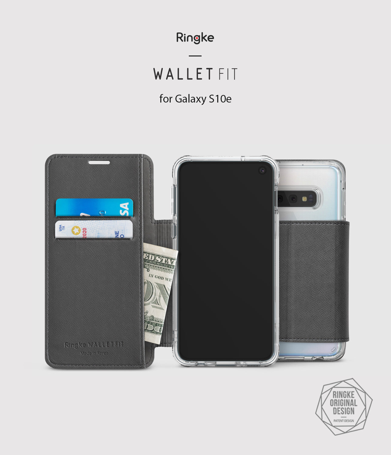 galaxy s10e wallet wallet-fit