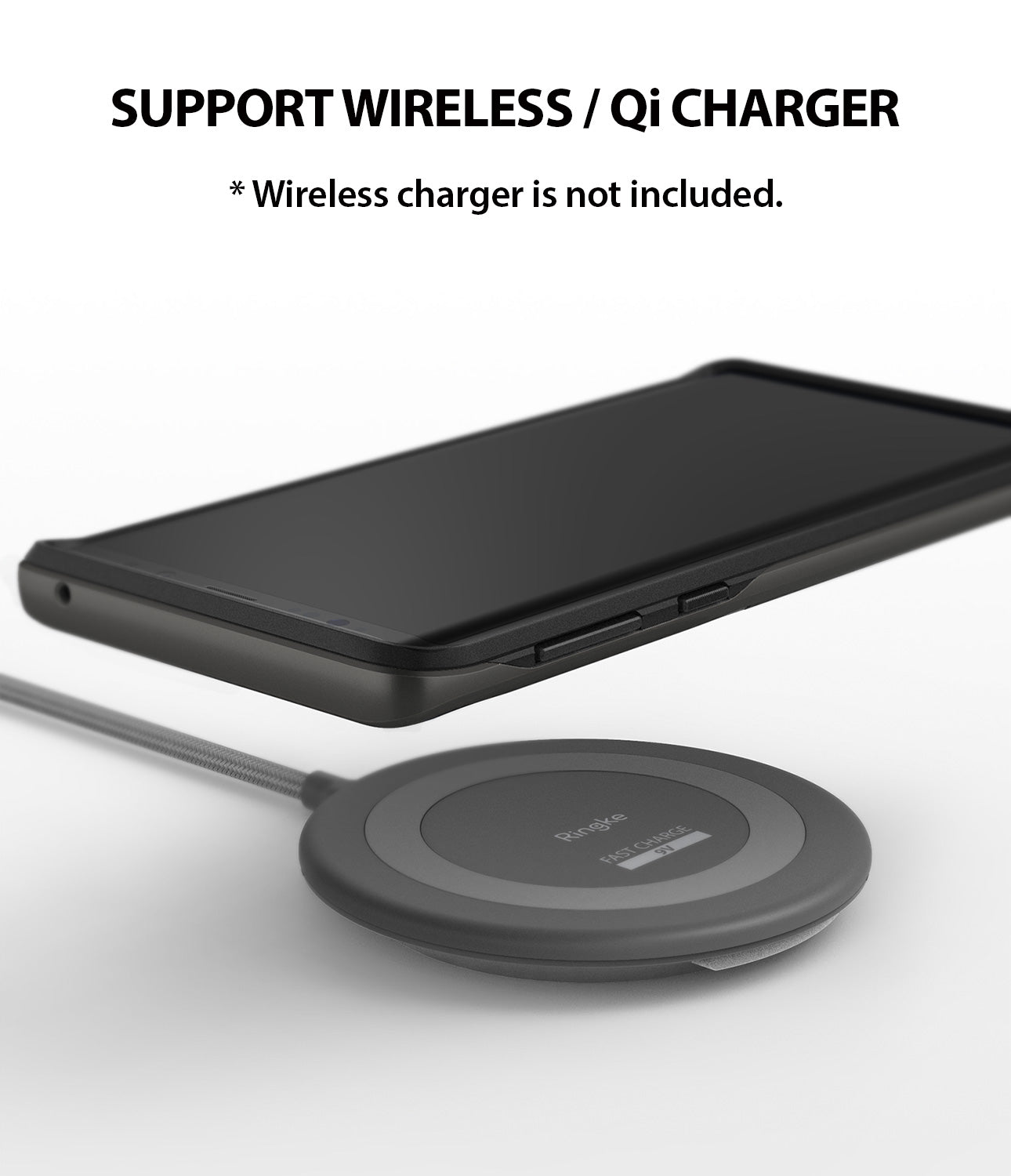 wireless /qi charge compatible