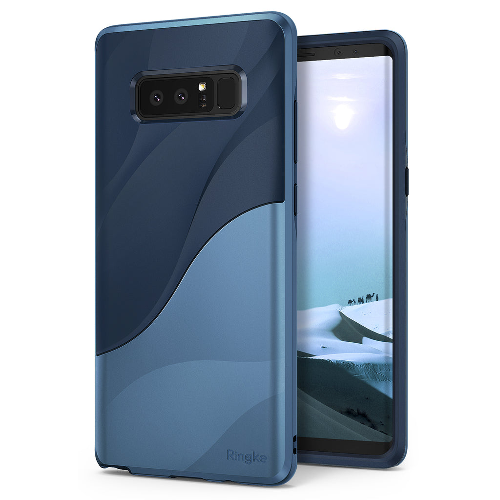 samsung galaxy note 8 ringke wave acse case coastal blue