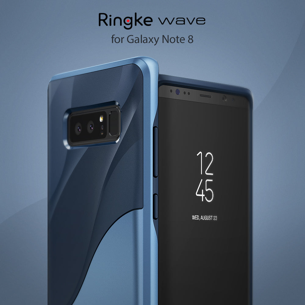 galaxy note 8 case ringke wave