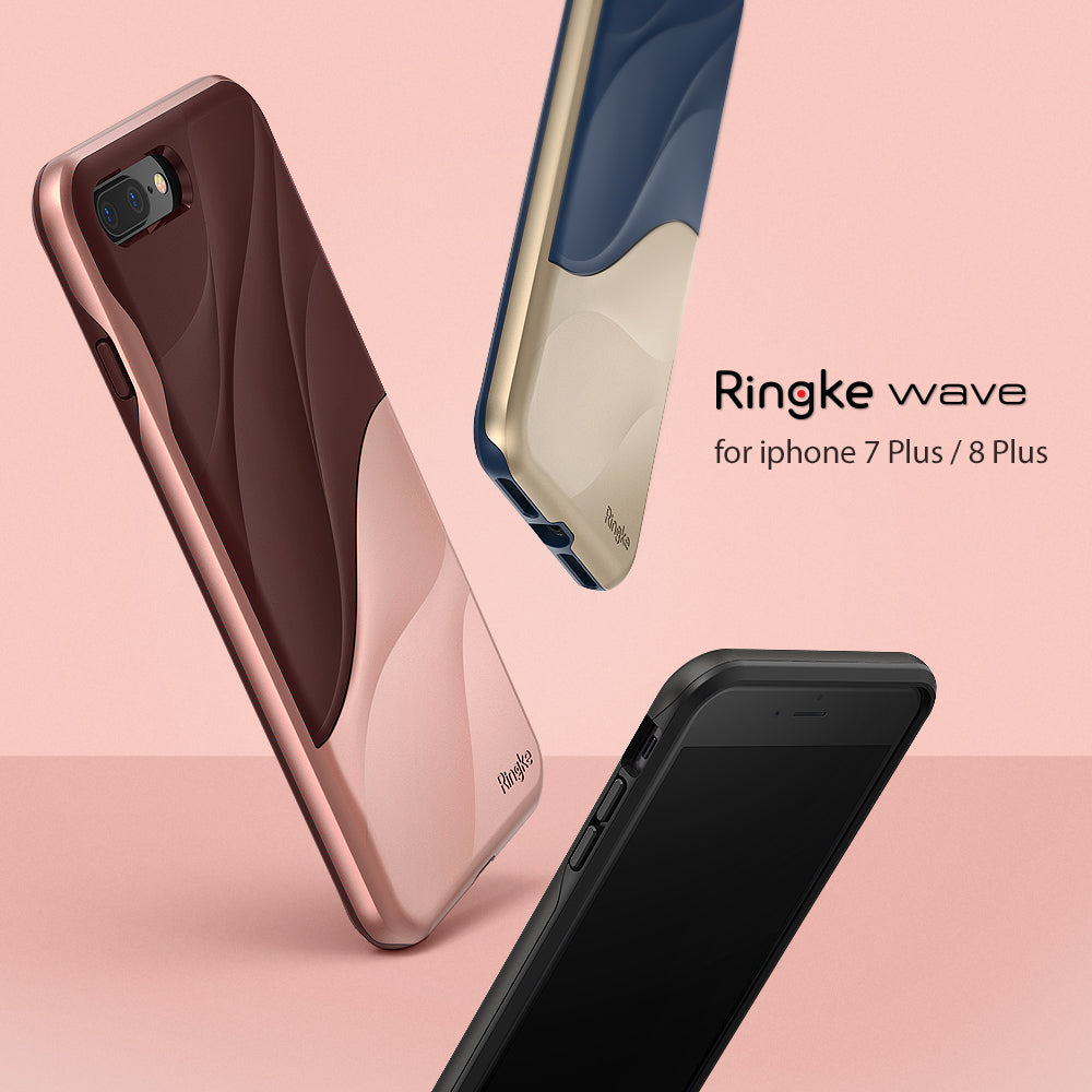 ringke wave dual layered design protective case cover for iphone 7 plus 8 plus main