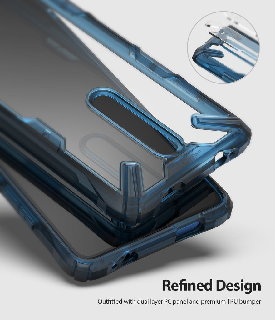refined design - outfitted with dual layer PC panel and premium TPU bumper
