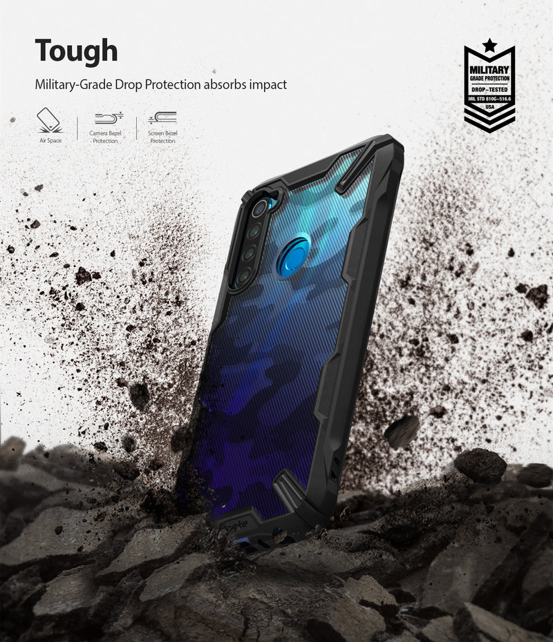 Ringke FUSION-X Design Case for Xiaomi Redmi Note 8 (2019)