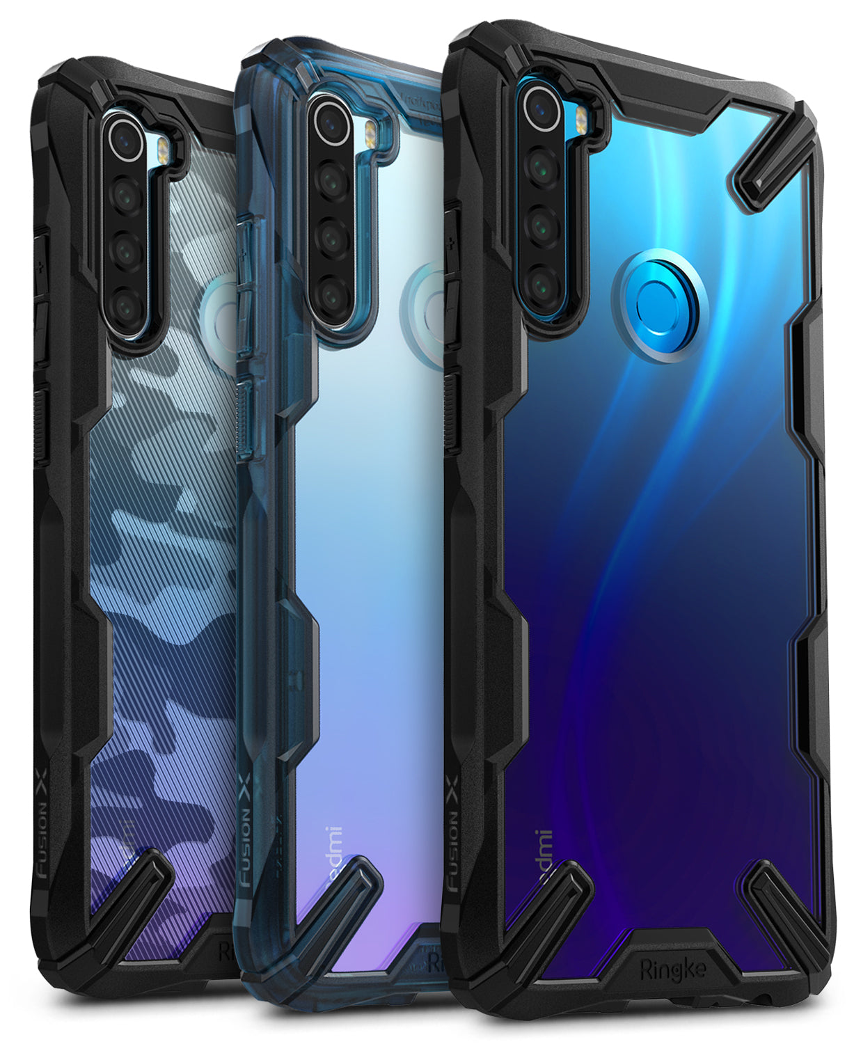 ringke fusion-x case for xiaomi redmi note 8