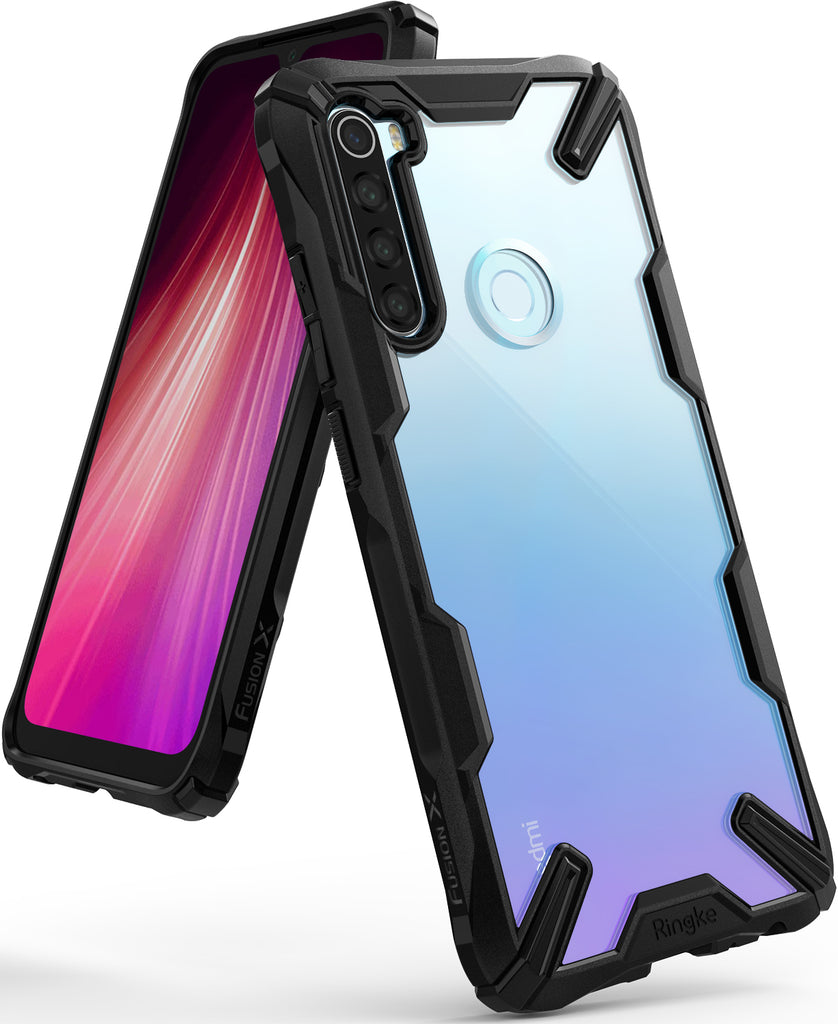 Ringke FUSION-X Design Case for Xiaomi Redmi Note 8 (2019) - black