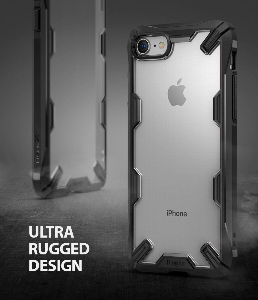 ringke fusion-x advanced bumper heavy duty protective case cover for iphone 7 8 main ultra rugged design