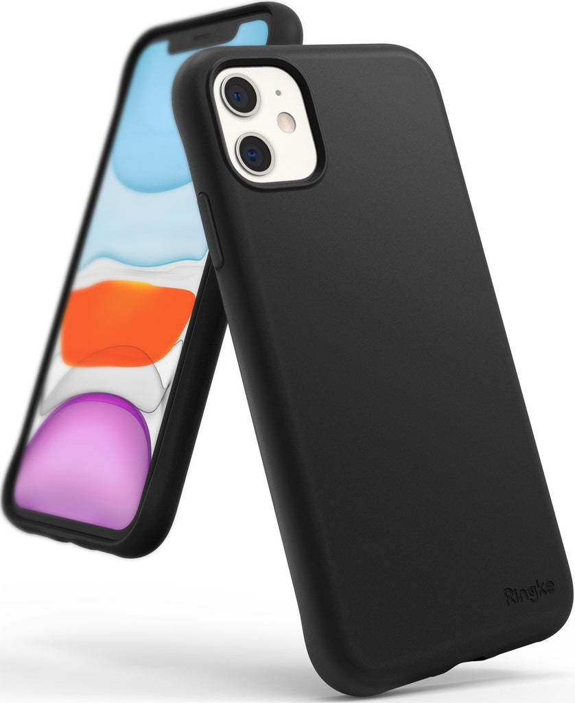 Ringke Air-S designed for iPhone 11 Slim Flexible TPU Soft Coating Smartphone Protection black