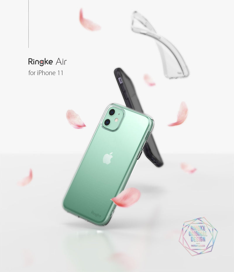 Ringke Air Designed for iPhone 11 Case, iPhone XI Case, iPhone 11R Case Cover (2019) - Clear