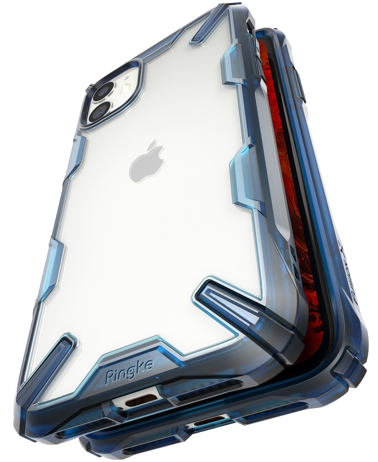 Ringke Fusion-X designed for iPhone 11 Space Blue