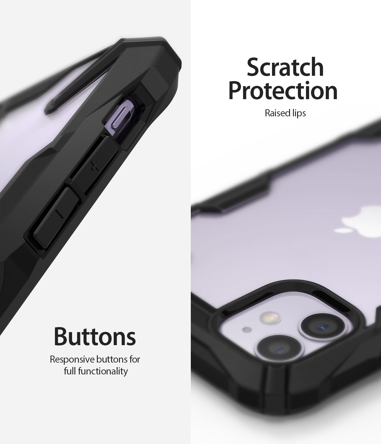 Ringke Fusion-X designed for iPhone 11 Lanyard Hole Scratch Protection