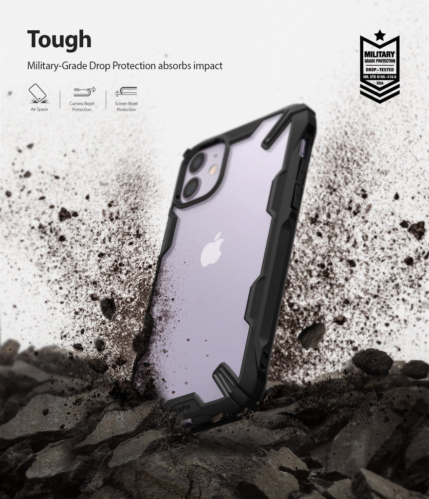 Ringke Fusion-X designed for iPhone 11 Tough Drop Protection