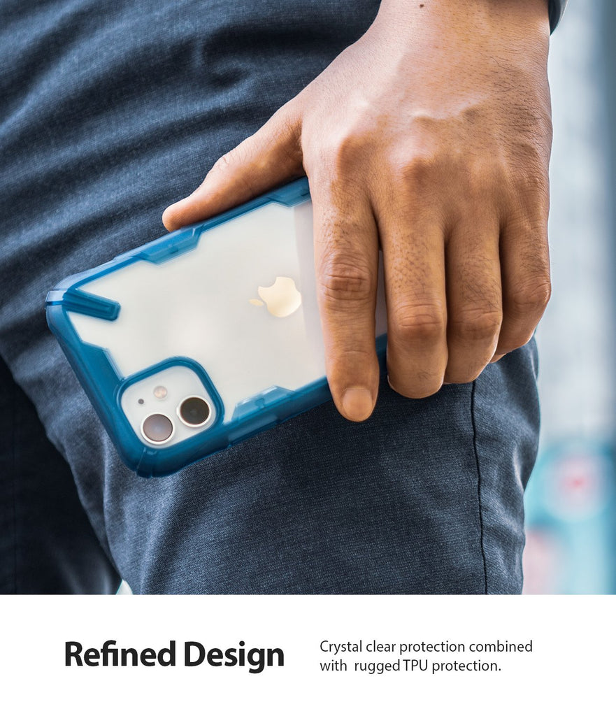 Ringke Fusion-X designed for iPhone 11 Space Blue Refined Design