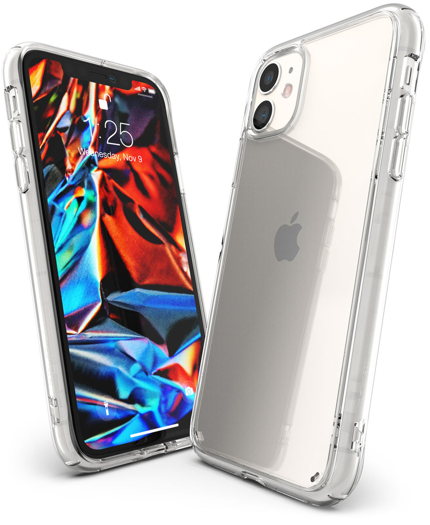 Ringke Fusion designed for iPhone 11 Case Clear